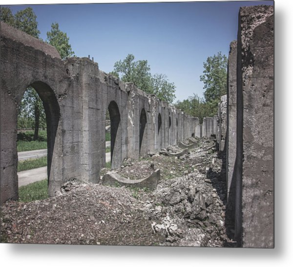 Into The Ruins 2 Metal Print