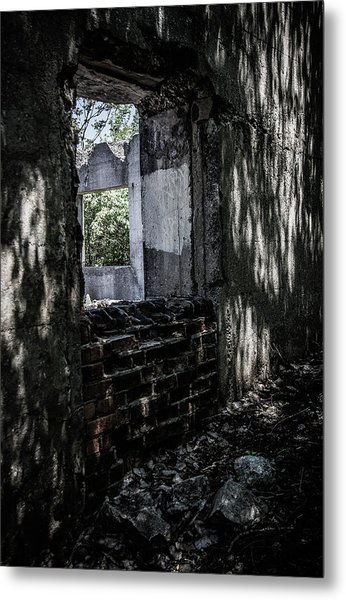 Into The Ruins 4 Metal Print
