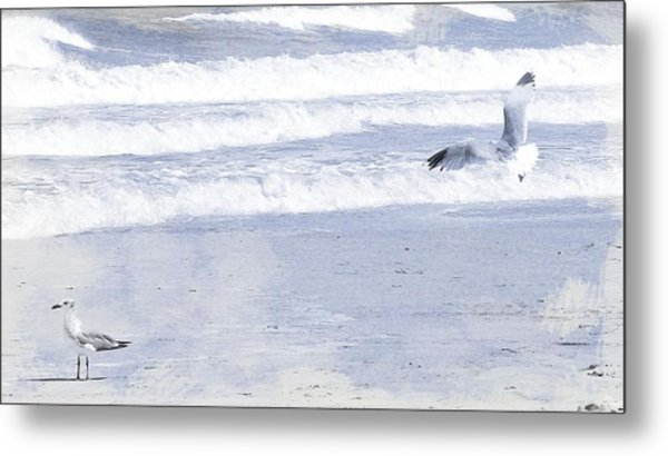 Into The Waves Metal Print by JAMART Photography