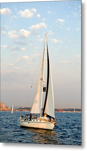 Into The Wind Metal Print by Tom Dowd