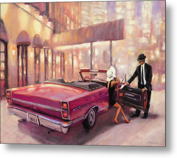 Metal Print featuring the painting Into You by Steve Henderson