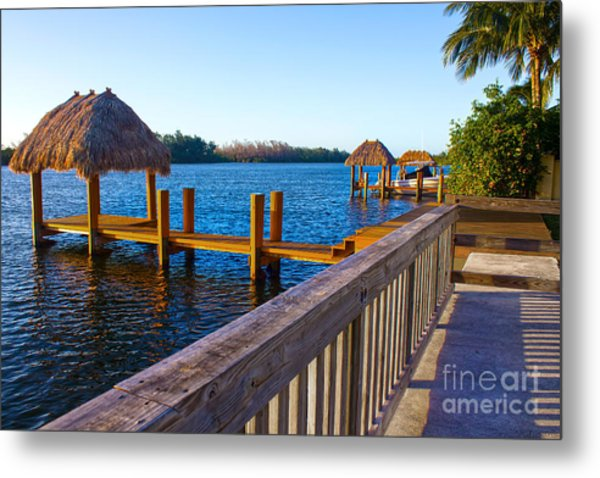 Intracoastal Series 12 Metal Print