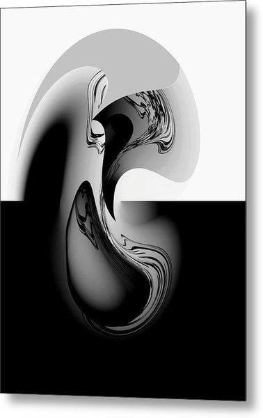 Introspection Digital Art Metal Print