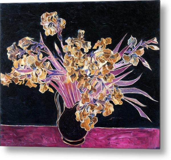 Inv Blend 3 Van Gogh Metal Print