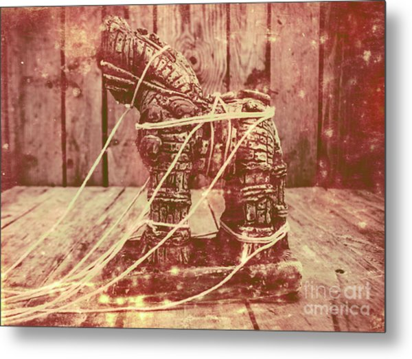 Invasion In Ancient History Metal Print