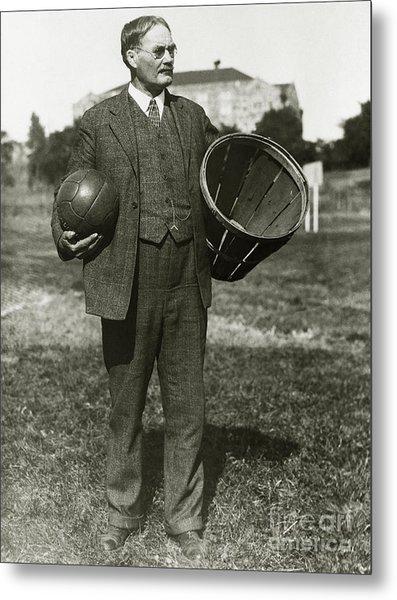 Inventor Of Basketball Metal Print