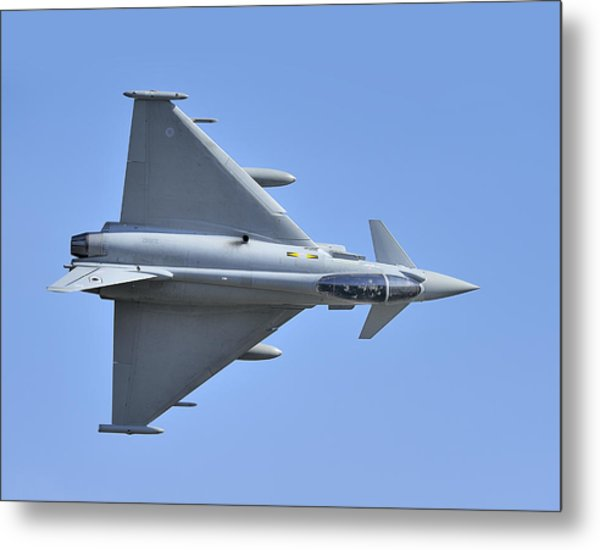 Inverted Typhoon In The Welsh Hills Metal Print by Barry Culling