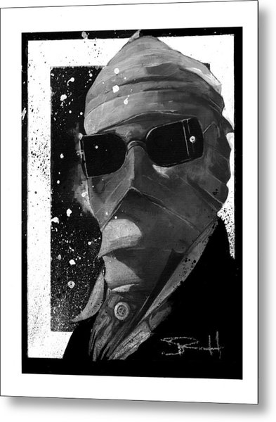 Invisible Man Metal Print