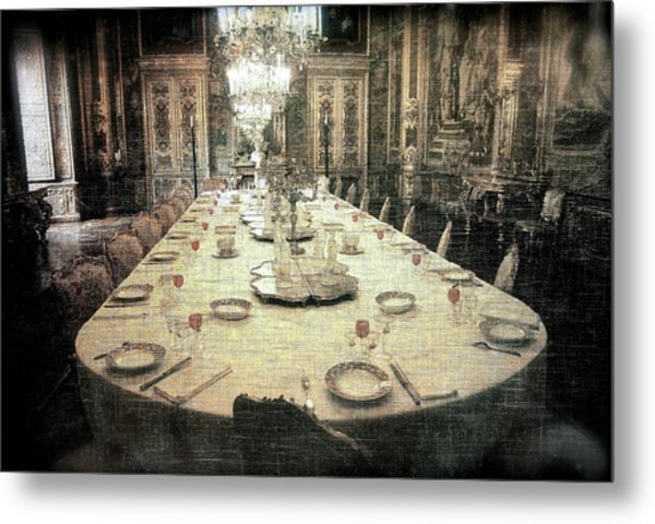 Invitation To Dinner At The Castle... Metal Print