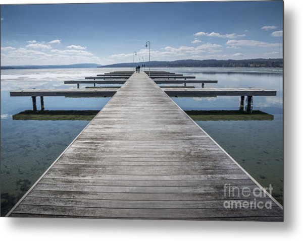 Inviting Walk Metal Print