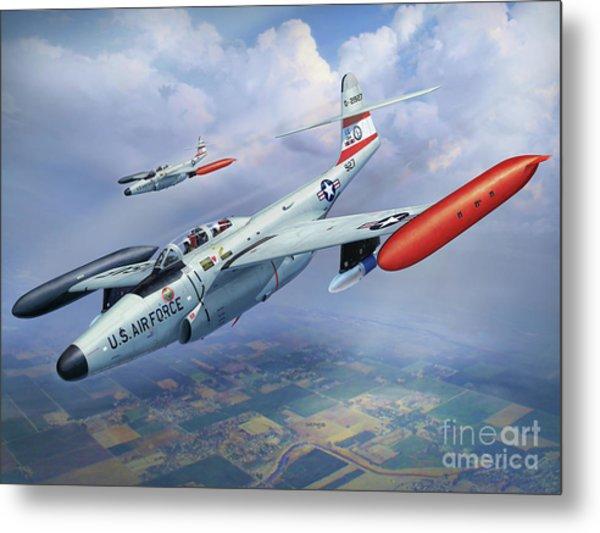 Iowa Ang F-89j Scorpion Metal Print by Stu Shepherd