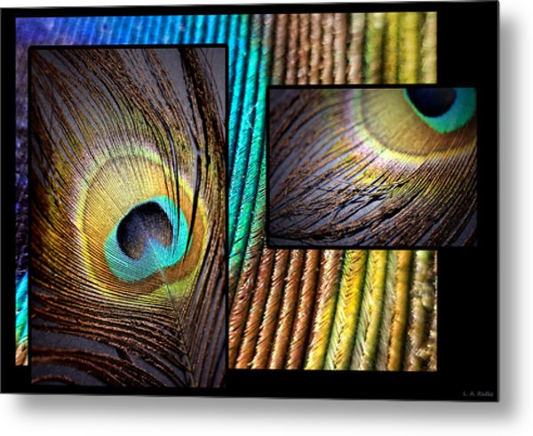 Iridescent Beauty Metal Print