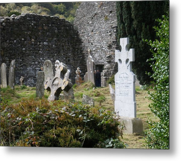 Irish Graves Metal Print by Siobhan Yost