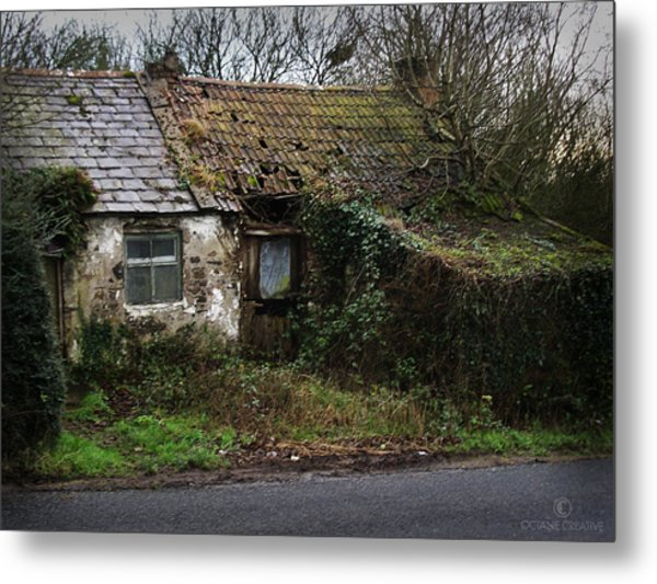 Irish Hovel Metal Print