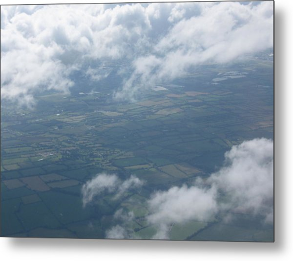 Irish Sky Metal Print by Frankie Graham