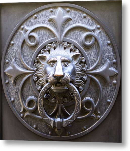 Iron Lion Metal Print