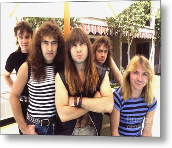 Iron Maiden 1983 Metal Print