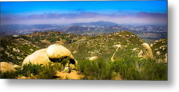 Iron Mountain View Metal Print
