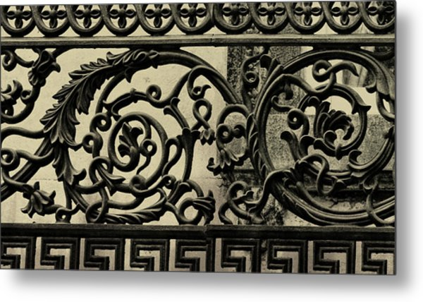 Iron Work Metal Print by JAMART Photography
