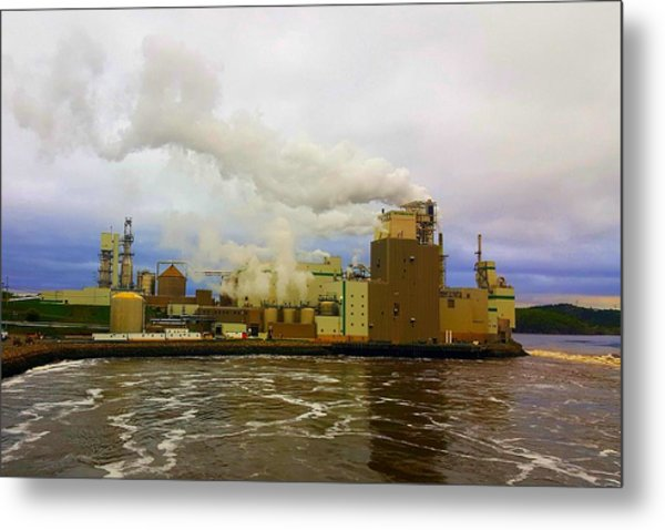 Irving Pulp Mill #3 Metal Print