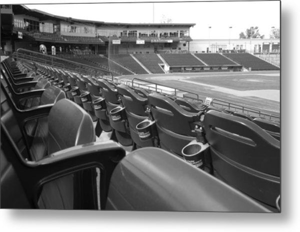 Is It Baseball Season Yet? Metal Print