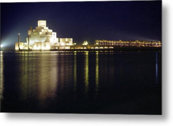 Islamic Museum At Night Metal Print