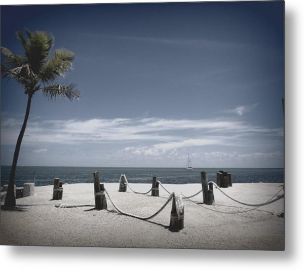 Islamorada Scenery Metal Print by Tammy Chesney