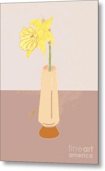 Island Daffodil Metal Print