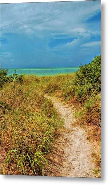 Island Path Metal Print