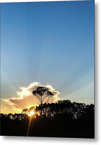 Metal Print featuring the photograph Island Sunset by Whitney Leigh Carlson