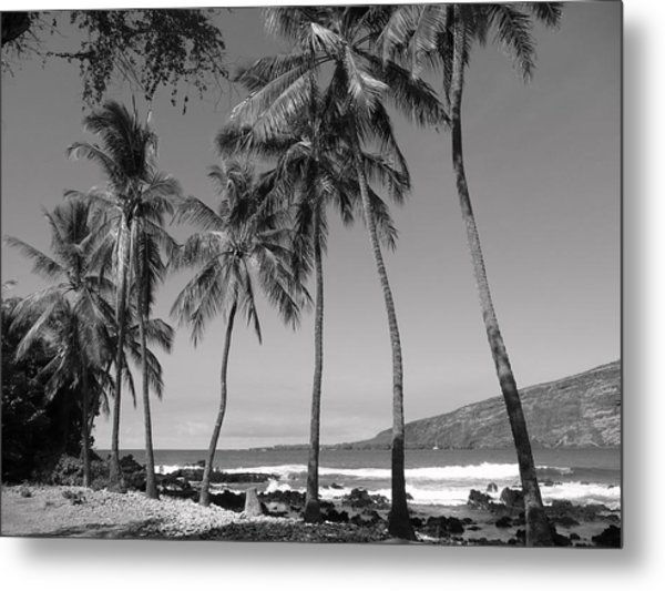 Island Waves Metal Print