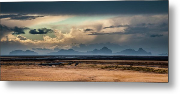 Islands In The Sky Metal Print