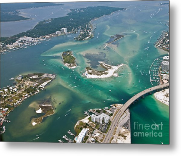 Islands Of Perdido - Not Labeled Metal Print