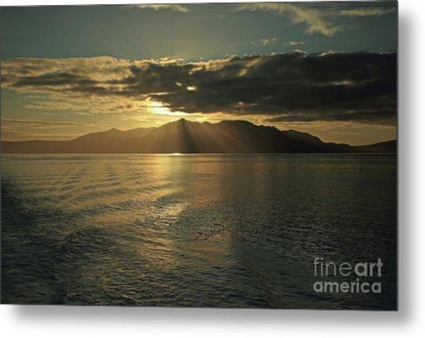 Isle Of Arran At Sunset Metal Print