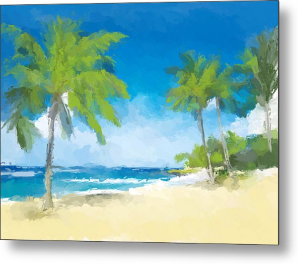 Isle Of Palm Beach Metal Print