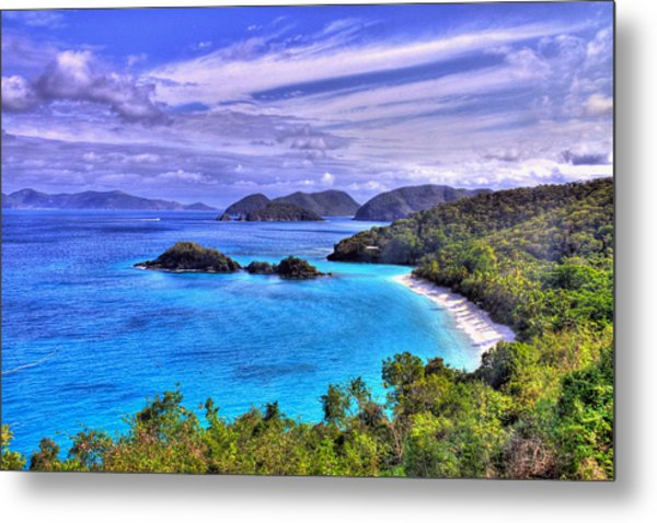 Isle Of Sands Metal Print