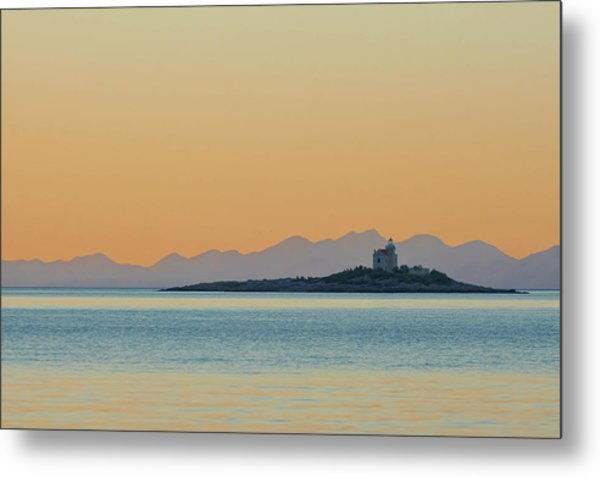 Metal Print featuring the photograph Islet by Davor Zerjav