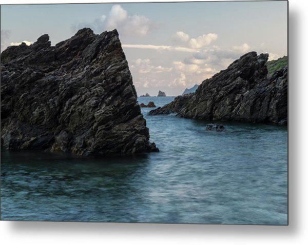 Islets At The Bottom Of The Rocks Metal Print