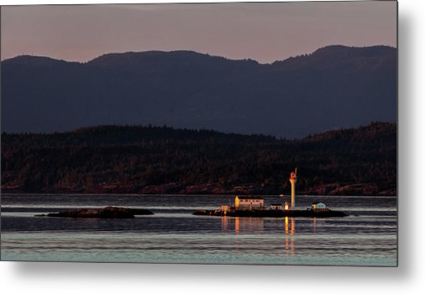 Isolated Lighthouse Metal Print