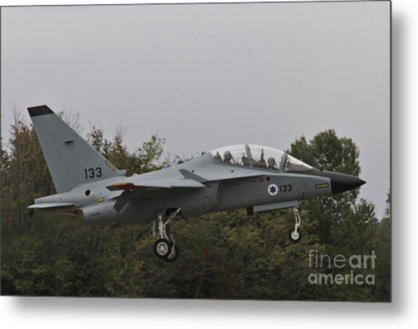 Israeli Air Force M-346i Lavi #133 Metal Print