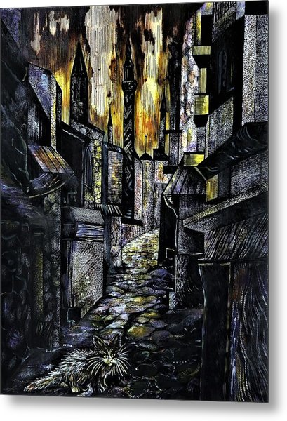 Istanbul Impressions. Lost In The City. Metal Print