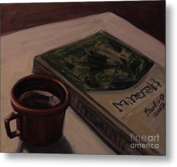 It Is Coffee Time Metal Print