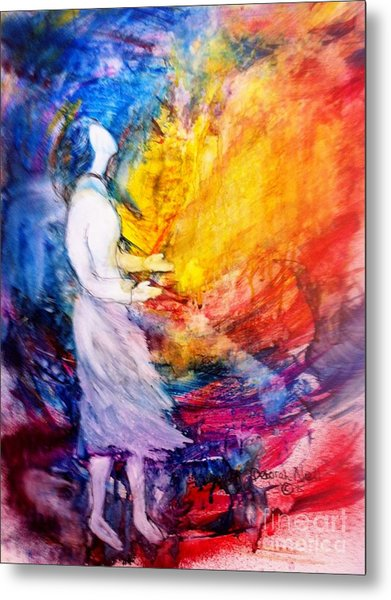 Metal Print featuring the painting It Is Well With My Soul by Deborah Nell