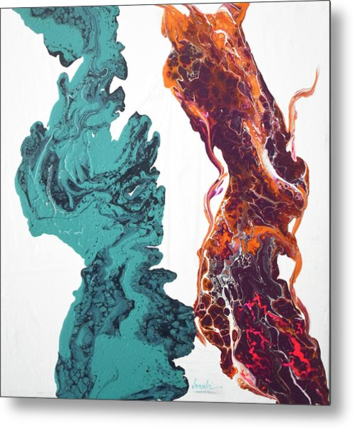 It Takes Two To Tango  Metal Print