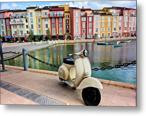 Italian Vista Series 8011y Metal Print