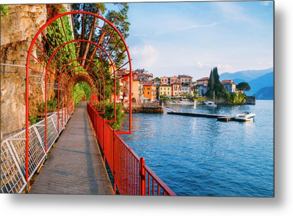 Italian Walk Of Love  Metal Print