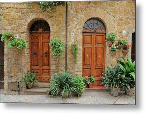 Italy - Door Seventeen Metal Print