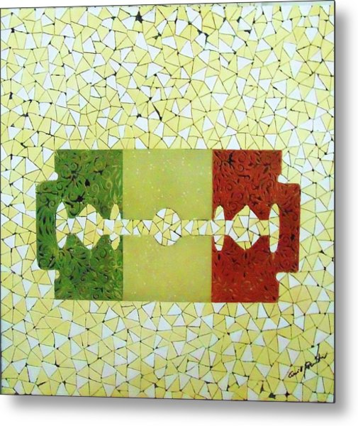 Italy Metal Print by Emil Bodourov