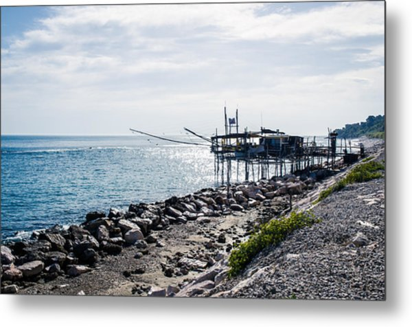 Italy - The Trabocchi Coast 2  Metal Print