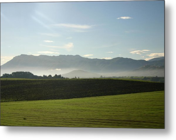 Italy's Country Side Metal Print by Dennis Curry
